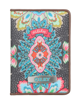 Oilily Travel Paisley Passport Cover