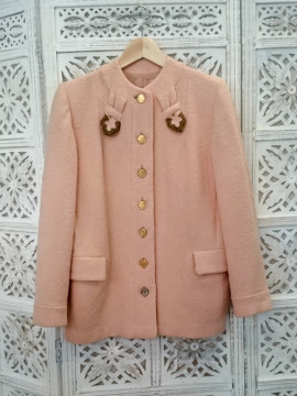 Vintage French Coin Jacket