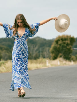 Spell & the Gypsy Collective Lolita Cutout Maxi Dress