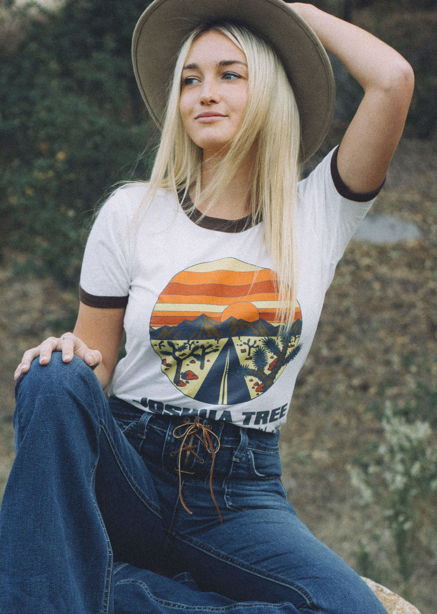 Electric West Joshua Tree Tee Belle Amp The Brave