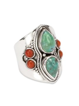 Tribe Jewelry Turquoise Trail Ring