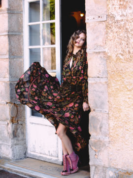 Spell & the GypSpell & the Gypsy Collective Lotus Etienne Maxi - Noirsy Collective Etienne Maxi - Noir