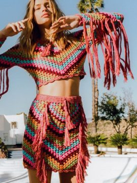 Spell & the Gypsy Collective Joni Crochet Skirt