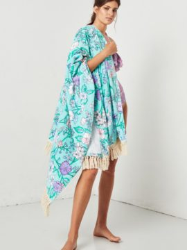 Spell & the Gypsy Collective Flowerchild Towel Ocean