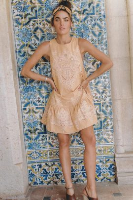 4c9b027b58 Spell   the Gypsy Collective Siren Song Darling Embroidery Mini Dress