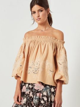 Spell & the Gypsy Collective Siren Song Darling Embroidery Mini Dress