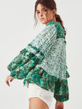 Spell & the Gypsy Collective Siren Song Winona Blouse Ivy