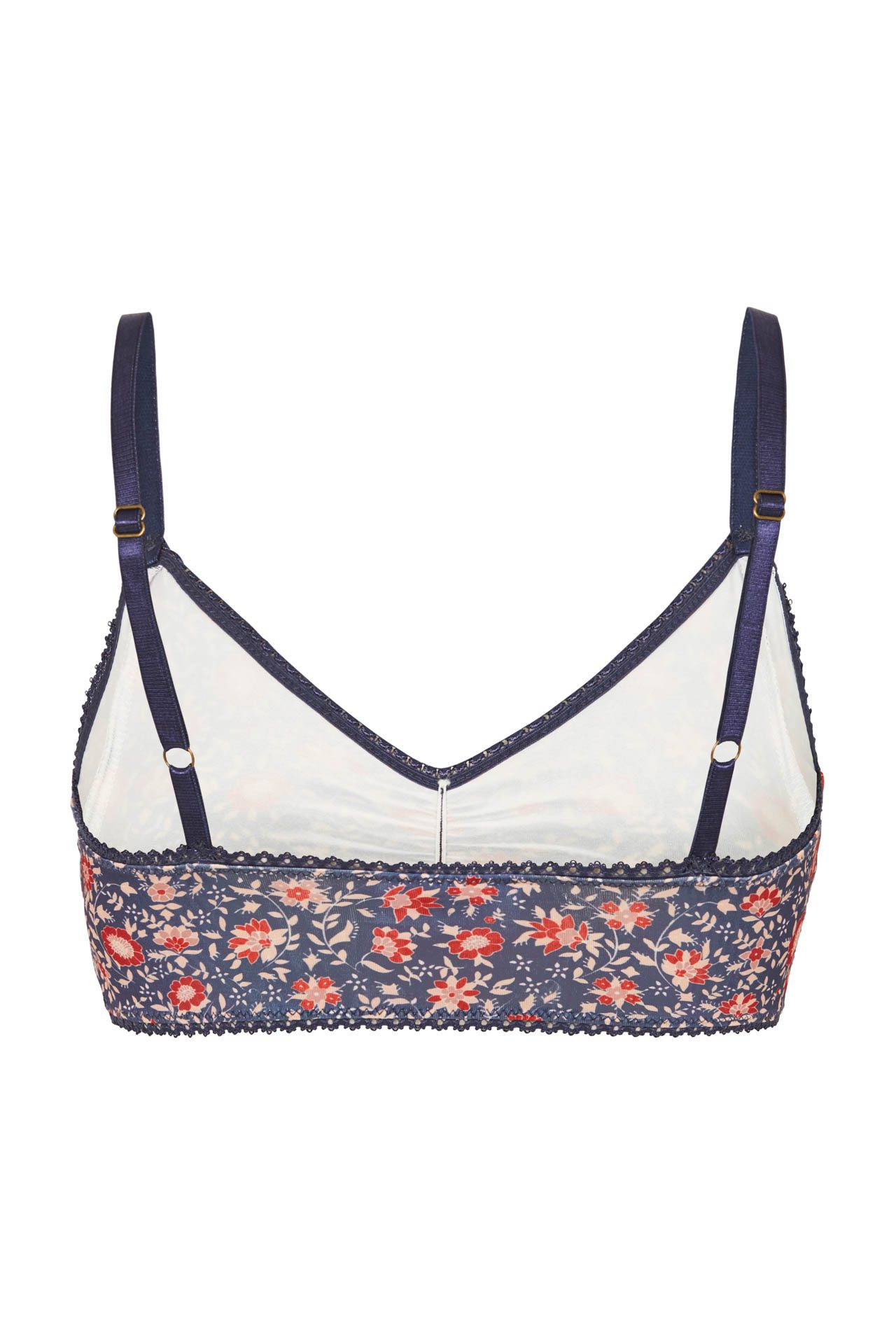 d9c5f450628 Spell   the Gypsy Collective Jasmine Bralette Navy - Belle   the Brave